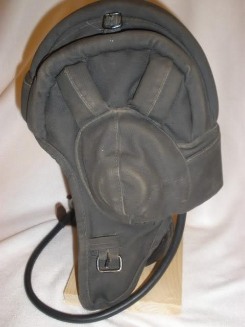 Grenada Bringback: Captured APC crewman's Helmet, canteen and Buckle P5110010