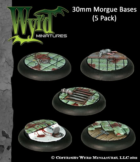 Wyrd Miniatures Morgue-30mm-Display