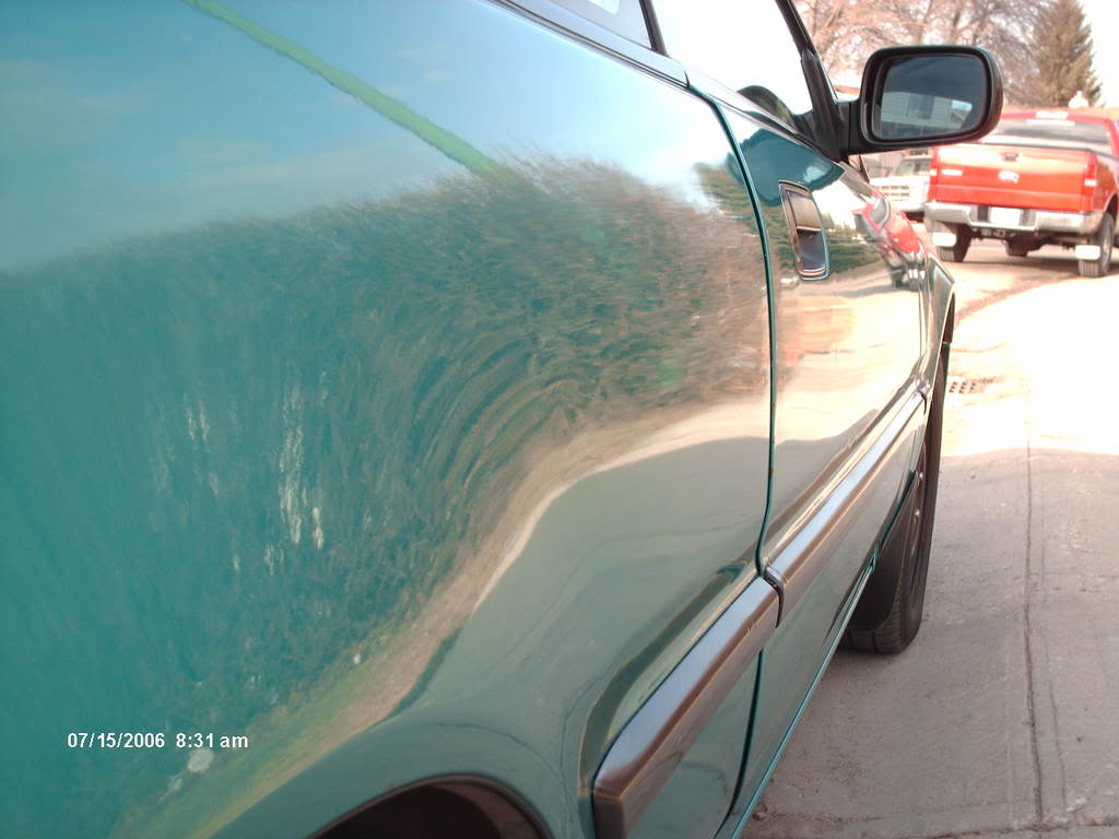 Waxed The Integra. Picture017