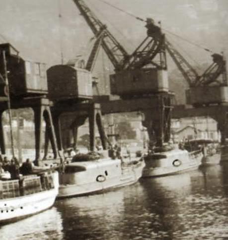 Hafenschultz à Cannes Motoscafo1944