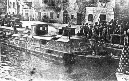 Hafenschutzflottille - Bastia HafenschutzbooteBastia2