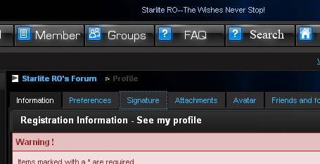 How to attach your signature to your posts Screen4guide4