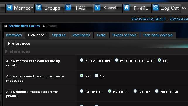How to attach your signature to your posts Screen4guide6