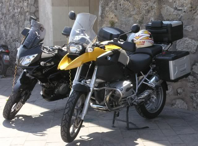 BMW's galore Antibes1200