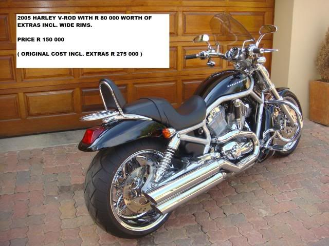 2007 650GS & 2005 Harley V-Rod FOR SALE LeonReynecke2