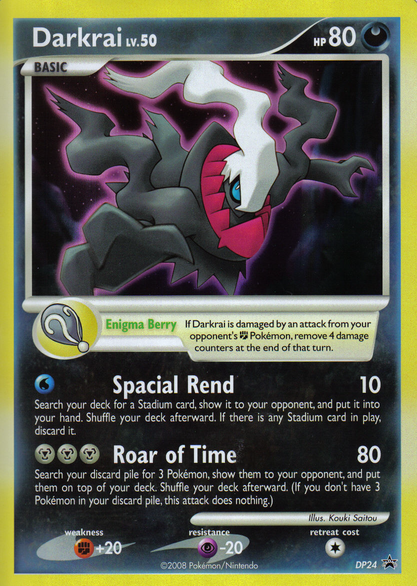 favorite pokemon card? Darkraicard
