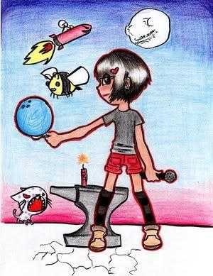 artsies :3 Cartoon_by_konluver