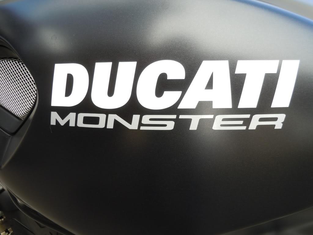 Flinkas returns... Ducati Monster 696 DSCN1542