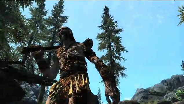 Epic Skyrim trailer dissection GIANT