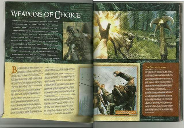 Scans from the Skyrim issue of Game Informer are out! BIG news. Details abound: Elder_scolls_v-3