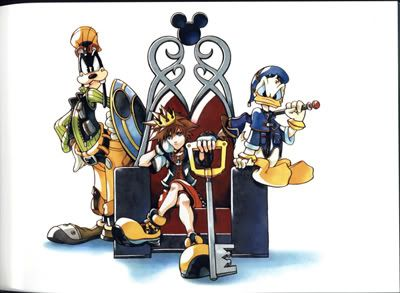 Imagenes del videojuego KingdomHeartsVisualArtCollection-1