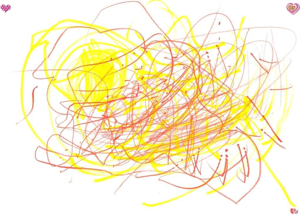 Sønnen min tegner April2008Marius2
