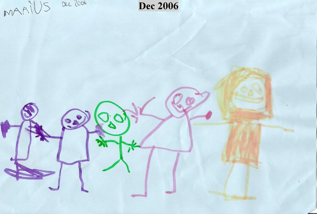 Sønnen min tegner Dec2006marius
