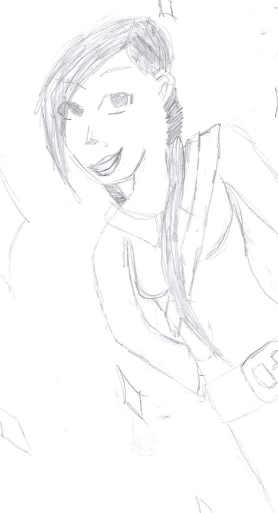 Min datter tegner ossa Okt2008niki11
