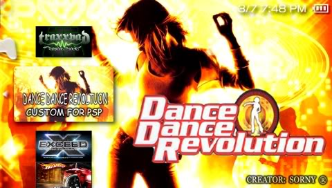 PSP Dance Dance Revolution Screenshot001SonyPSP