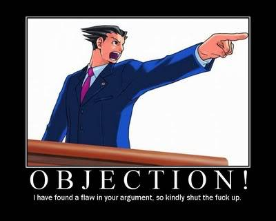 Just for laughs Objection