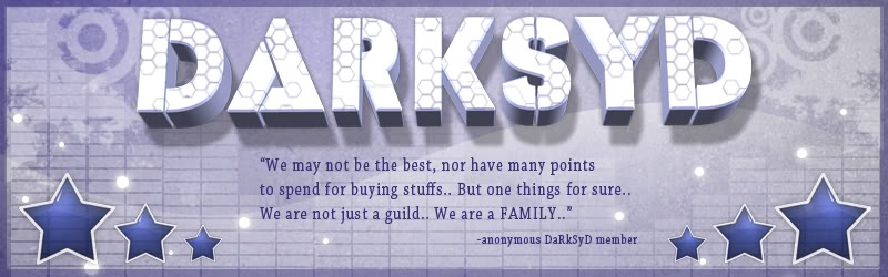 The official darksyd family forum - Portal Darksydbanner