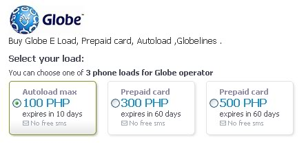 Want to e-load without going to the store? Globe