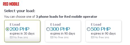 Want to e-load without going to the store? Red