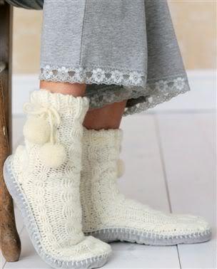 Kışlık Çoraplar,Hem Şık Hem Sıcacık Slippers2mt1
