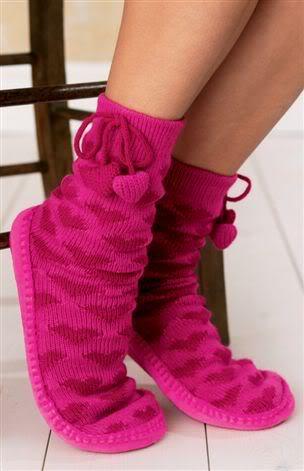 Kışlık Çoraplar,Hem Şık Hem Sıcacık Slippersgv8
