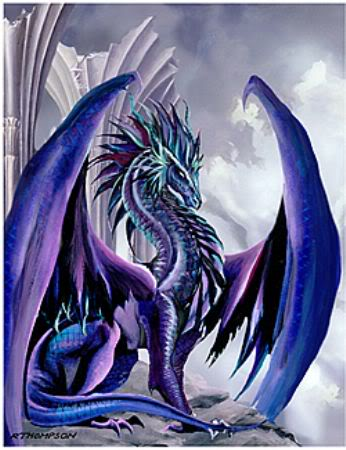 FIcha de Galadriel Dragon-Blue