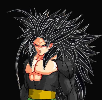 Images découvertes [Fanarts Dragon Ball] Evil_Goku_ssj5_Dragon_Ball_AF_by_Ex