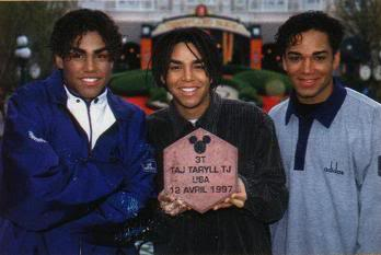 3T: Taj, Taryll & TJ Jackson 3Tdisney