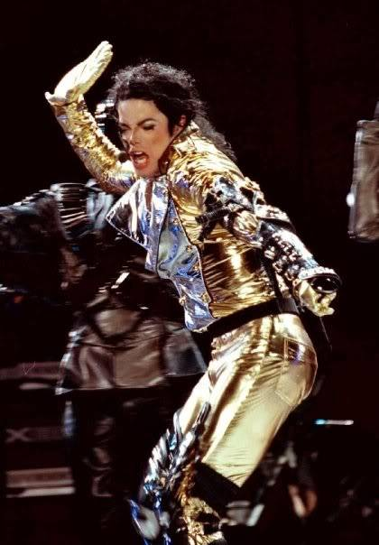 Gold Pants Mjspank