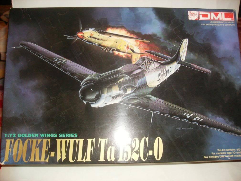 Focke-Wulf Ta 152 C Caja1