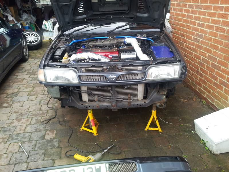 Bobs front end stripped down ,,  start date 01/11/12 20121113_120356