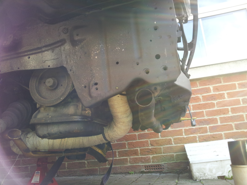 Bobs front end stripped down ,,  start date 01/11/12 20121204_123531