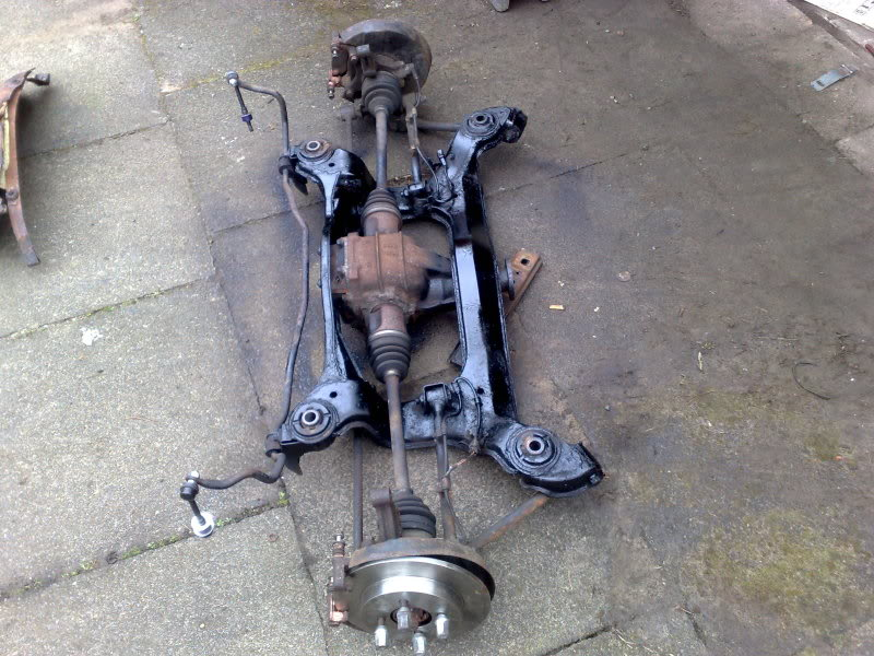 Bobs front end stripped down ,,  start date 01/11/12 290220122491