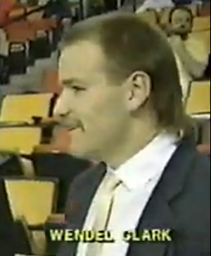 Hockey Hair WendelClarkMullet