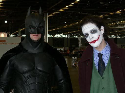 batman et le joker,à la japan expo a paris JE-2K8-00967