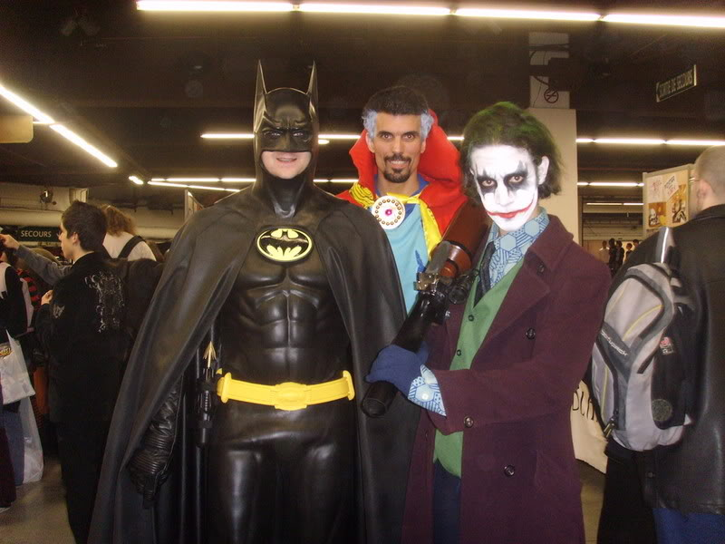 convention PARIS-MANGA  les 8 et 9 mars 2008,  batman/alien SSL20079
