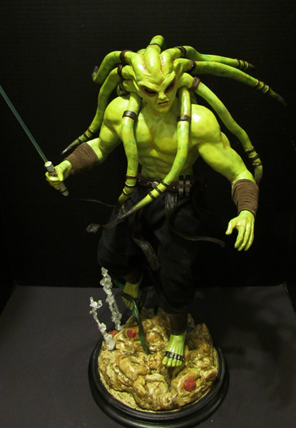 some of my custom STAR WARS Statues Kit_fisto_forum02