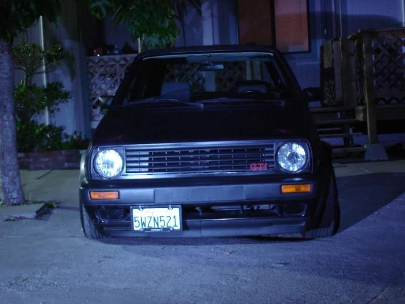 Fotos de mi GTI Mk2 y unos videos desde Santa Cruz California. 6ee03231