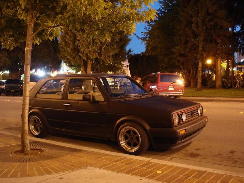 Fotos de mi GTI Mk2 y unos videos desde Santa Cruz California. DSC00737