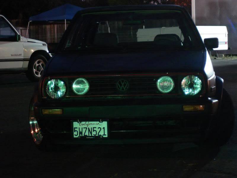 Fotos de mi GTI Mk2 y unos videos desde Santa Cruz California. DSC00813