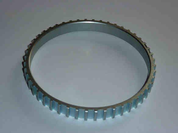 Bague capteur ABS / Anneau cranté de la roue avant gauche ABSRingNew