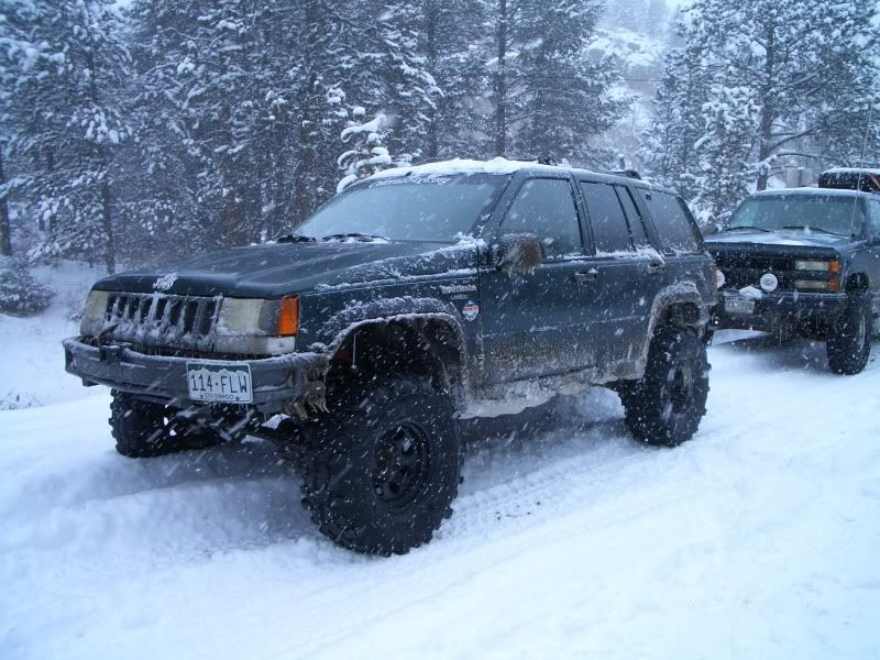 Snow Wheeling! Crown Point- Feb. 2010 CIMG1494