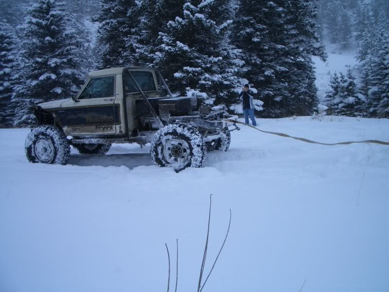 Snow Wheeling! Crown Point- Feb. 2010 CIMG1498