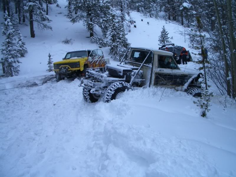 Snow Wheeling! Crown Point- Feb. 2010 CIMG1514