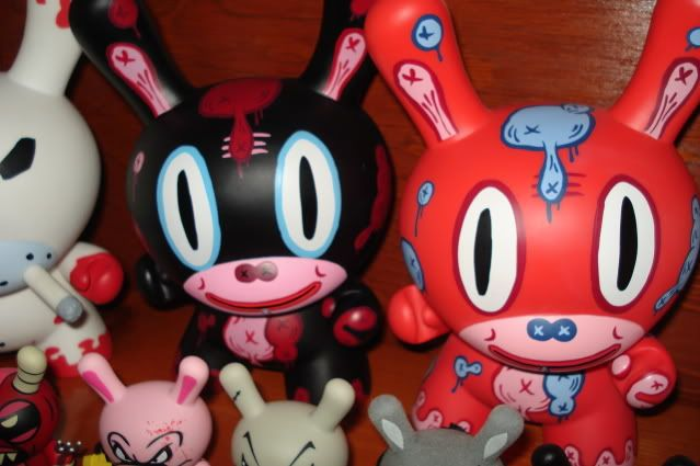 baseman red and black dunny set $130.00 shipped for both DSC00052