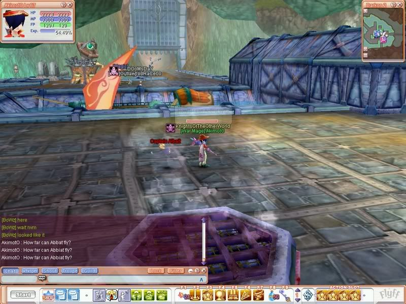 How did I managed to bring this to Drakon? Flyff00098