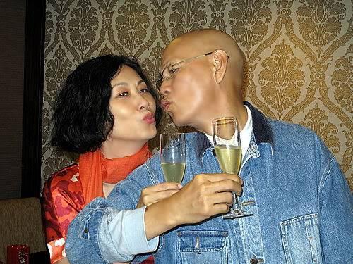 Liza and Mr Law Kar Ying - General Talks LizaMrLawDinnerkiss