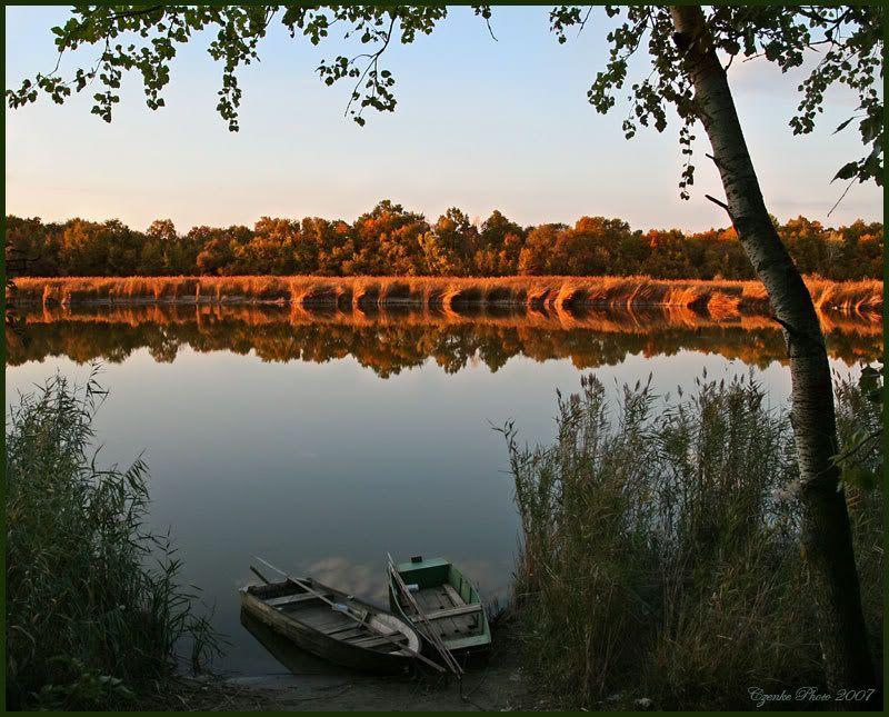 Lake of Szelid, Hungary, Europe! Kettesben
