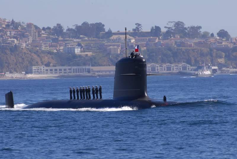 Armada de Chile FuersubRevistaNavalBicentenario6