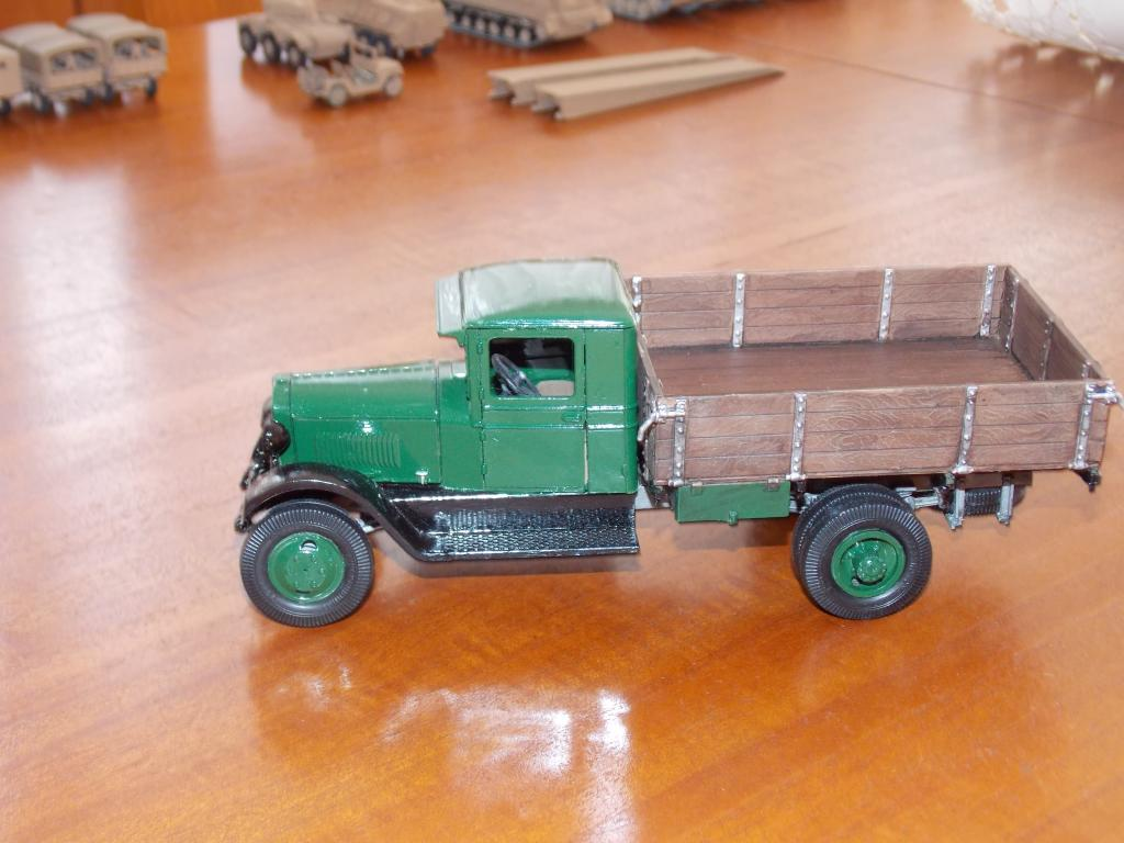 Camion GAZ AA 1/35 DSCN9840